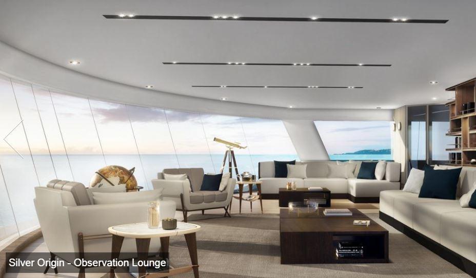 Silversea - Silver Origin - Observation Lounge