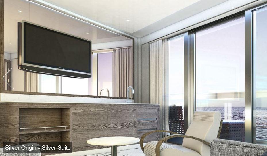 Silversea - Silver Origin - Silver Suite