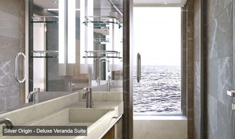 Silversea - Silver Origin - Deluxe Veranda Suite