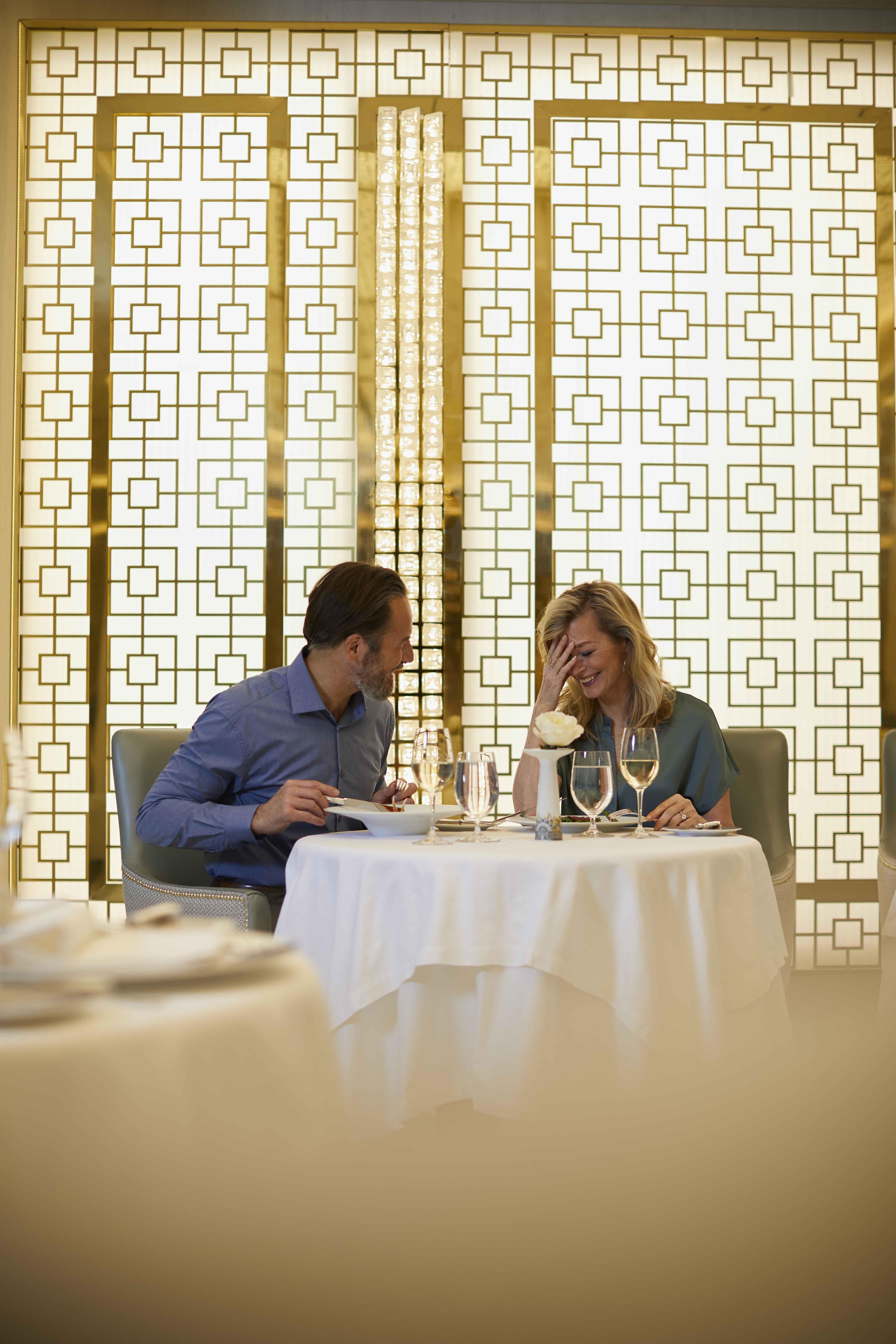Seven Seas Splendor - Compass Rose Restaurant Dining