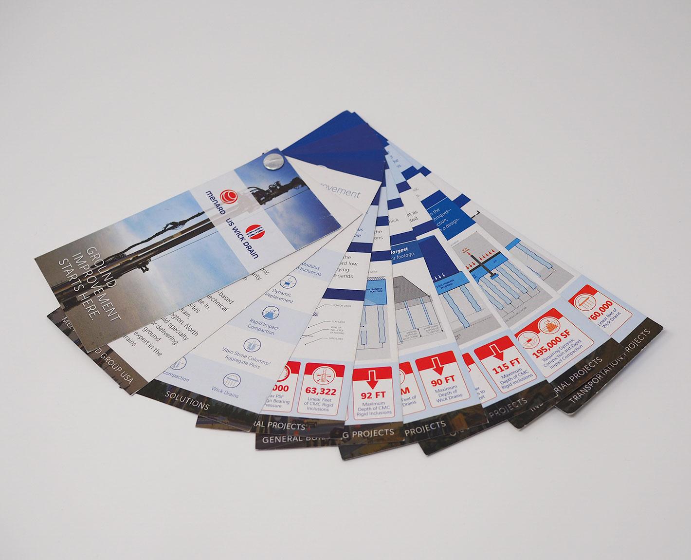 Unique brochure design by Tara Hoover