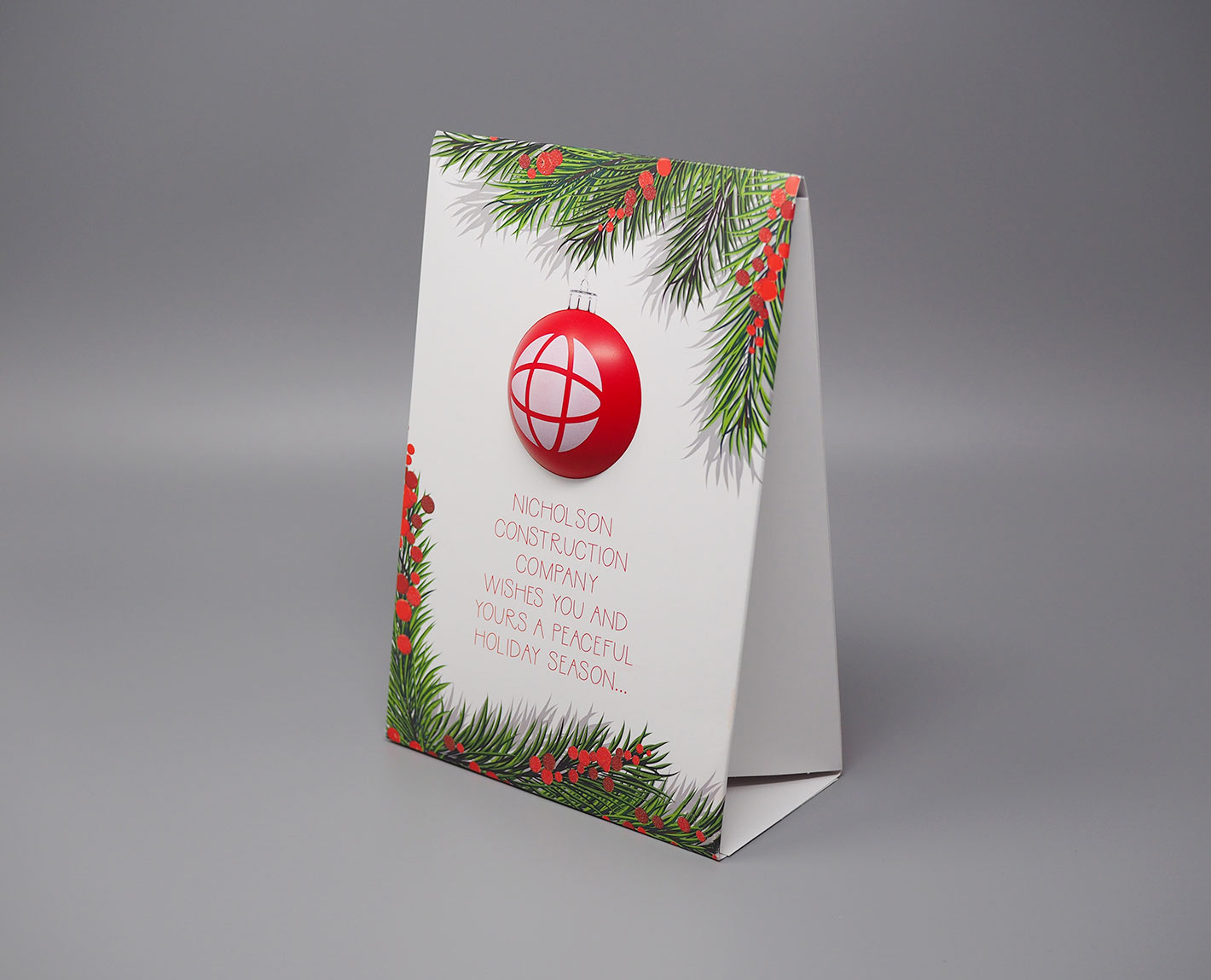 Nicholson holiday card by Tara Hoover