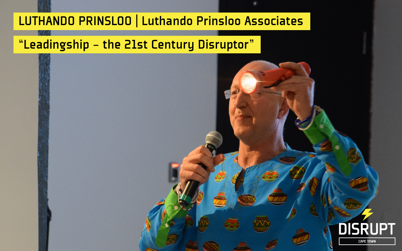 Luthando Prinsloo at DisruptHR CPT #2
