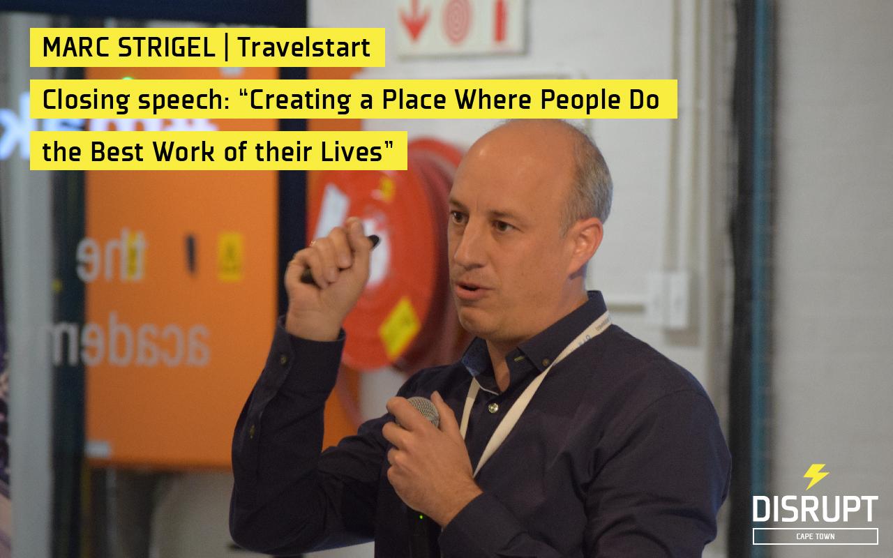 Marc Strigel at DisruptHR CPT #2