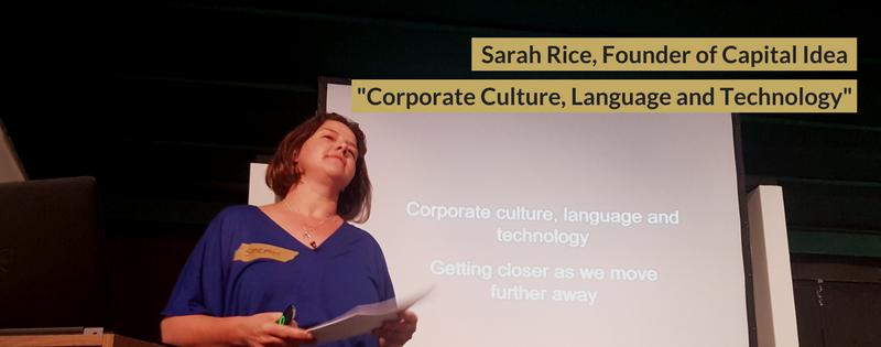 Sarah Rice at DisruptHR CPT #1