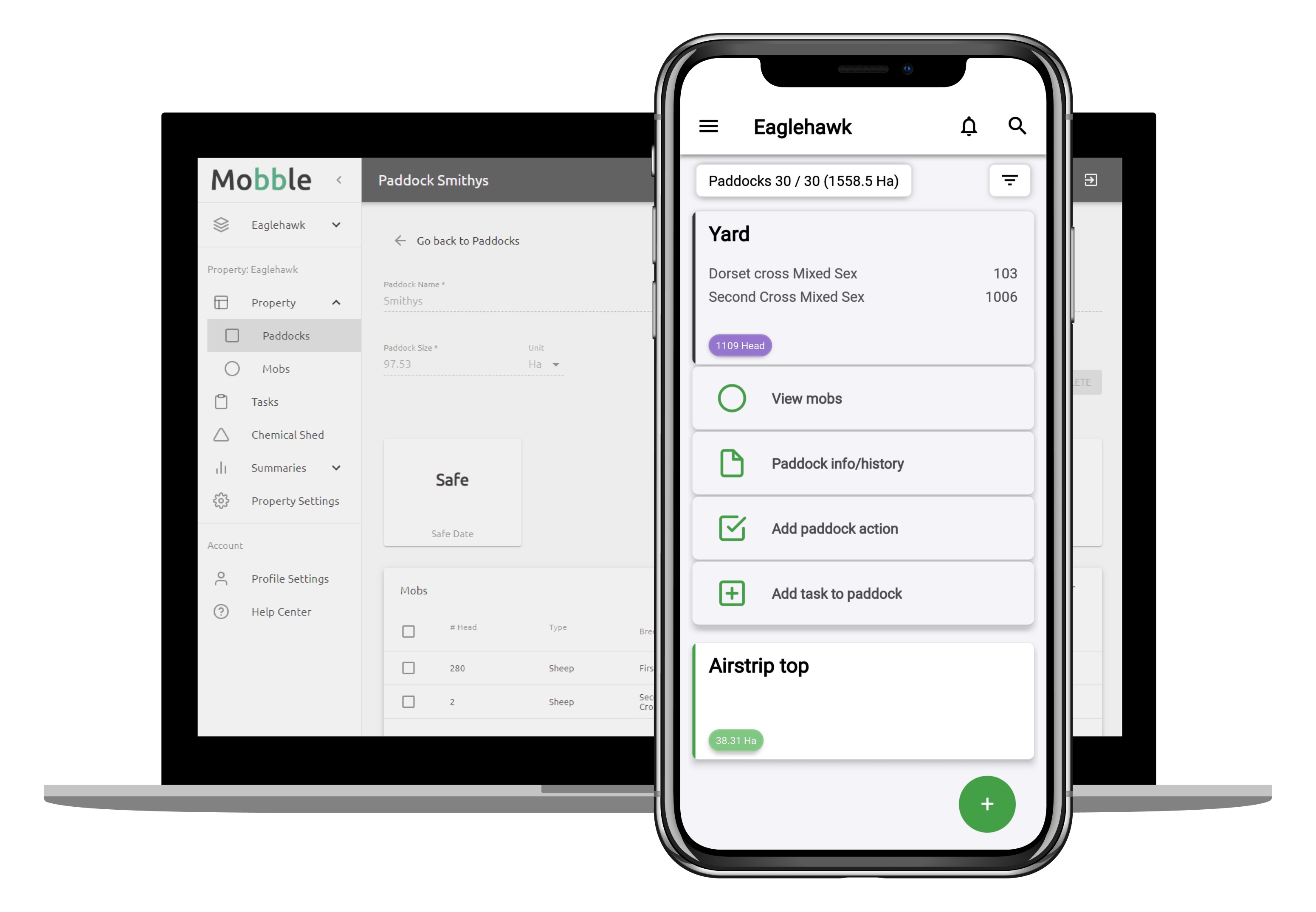 Livestock Farm Management App Mobble