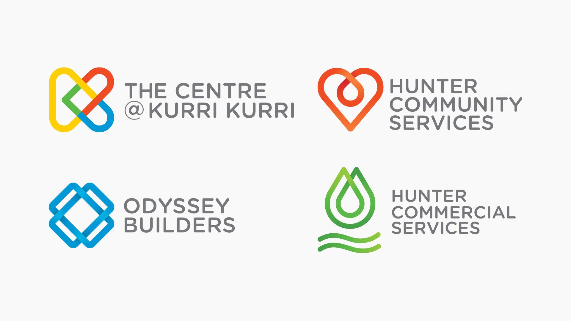 New logos for Kurri Kurri Community Services units