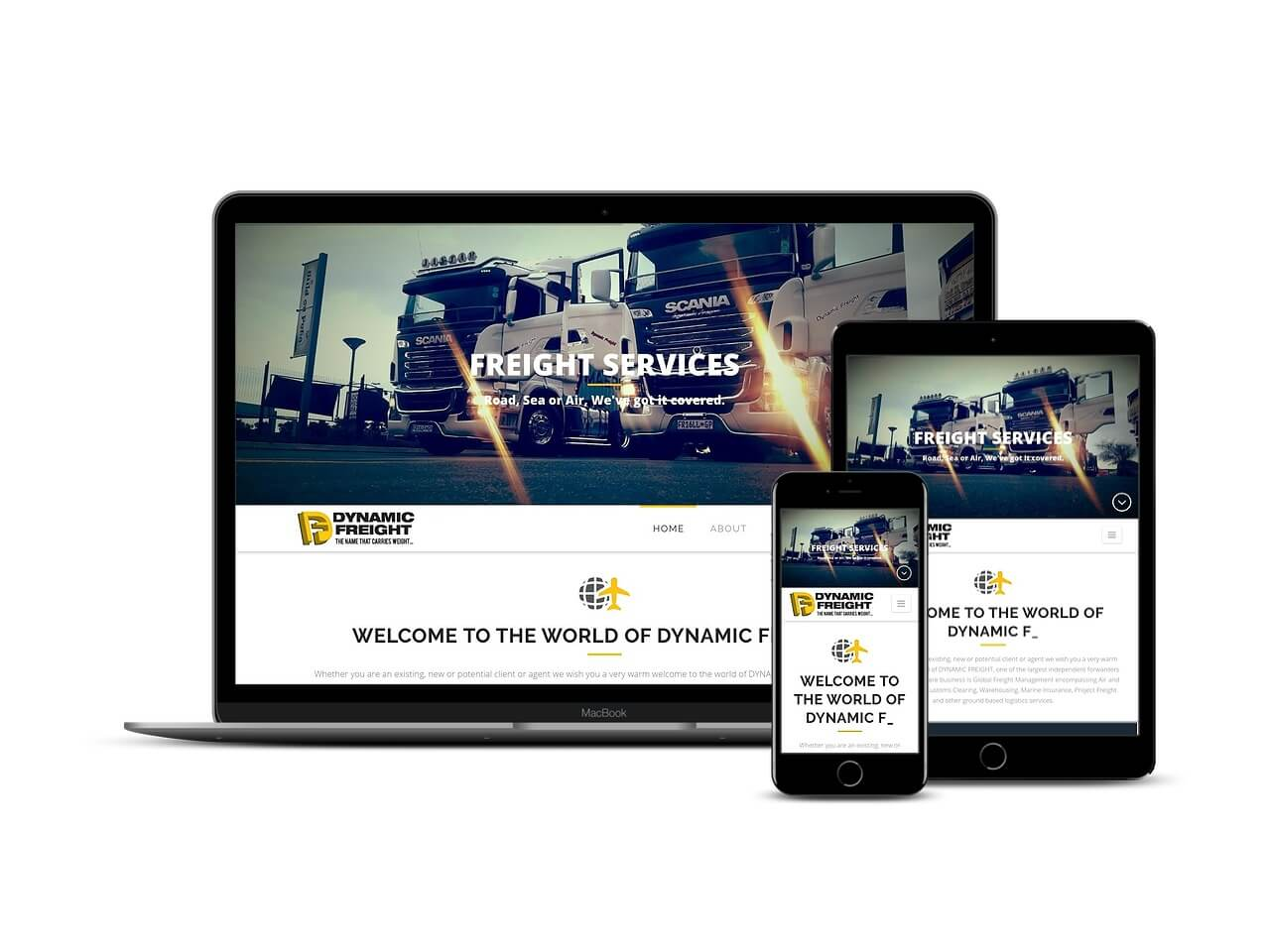 Custom Web Development Projects - Dynamic Freight