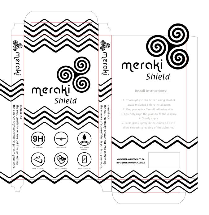 Meraki Packaging Design