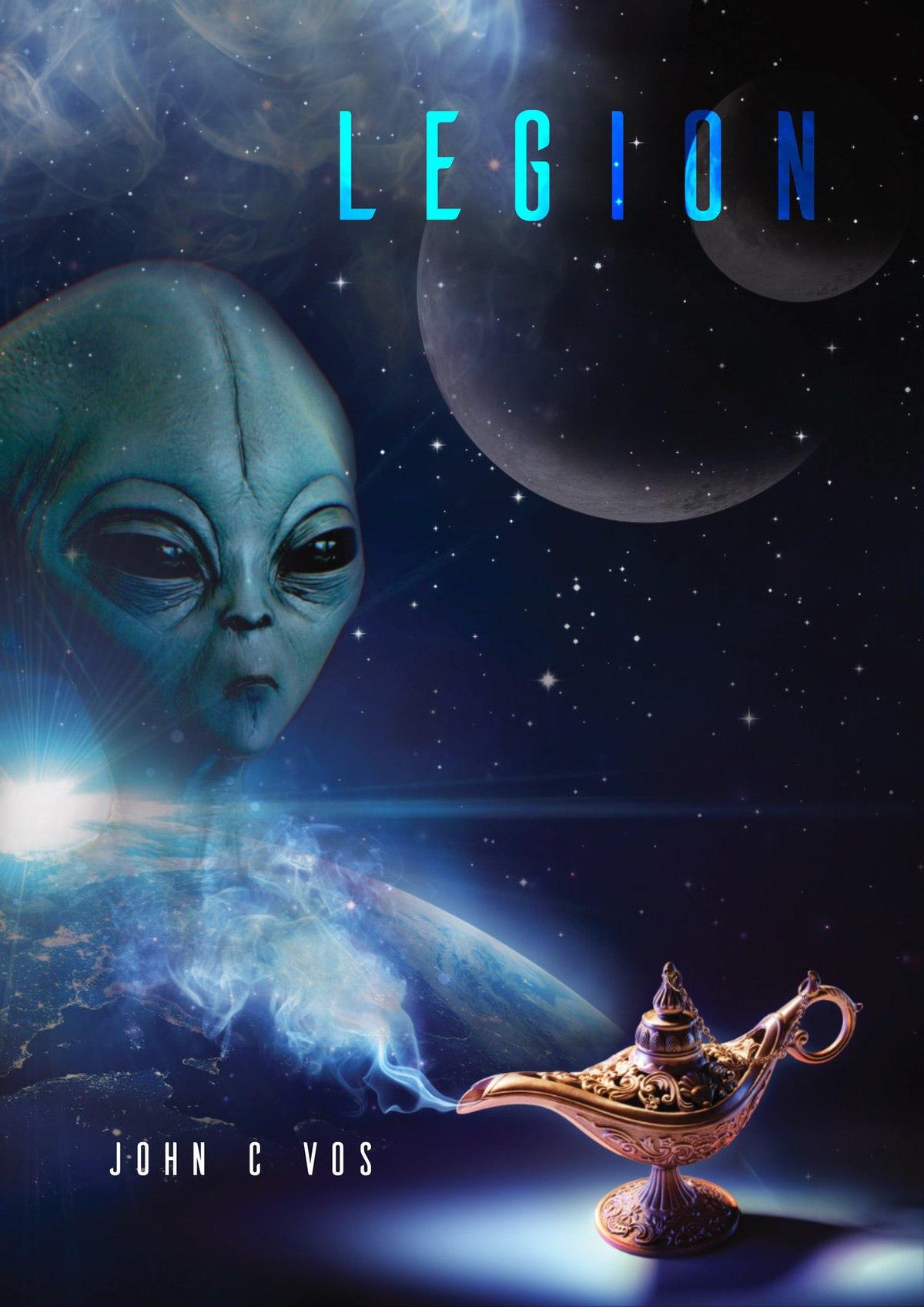 Legion Book Cover Design