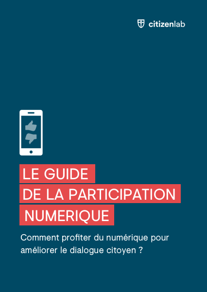 cover page of digital participation guide