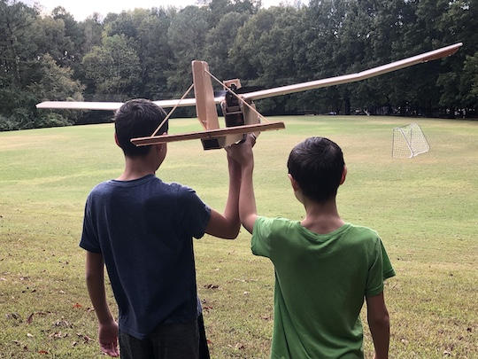 Project teamwork leads to successful flight.