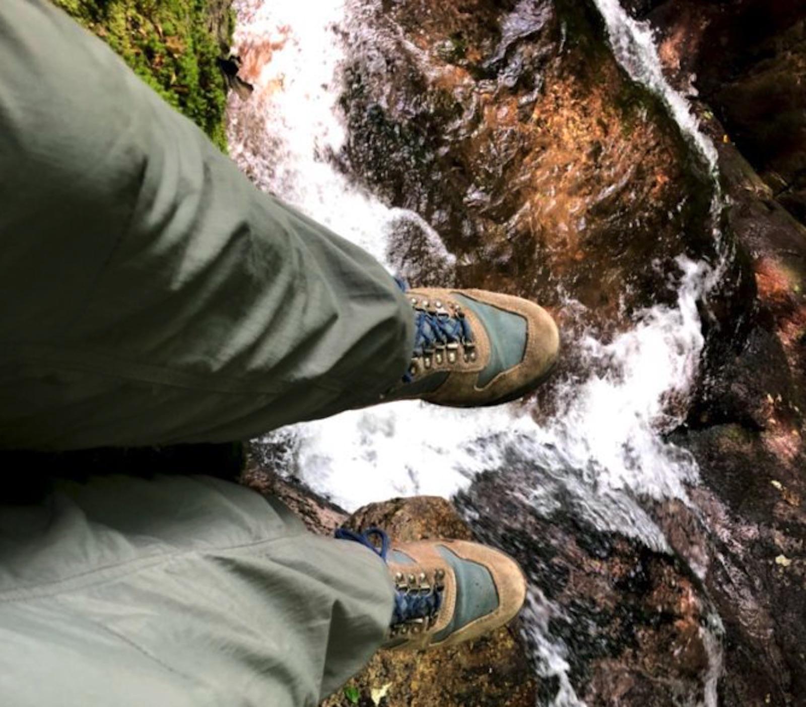 Feet over the edge needing reset
