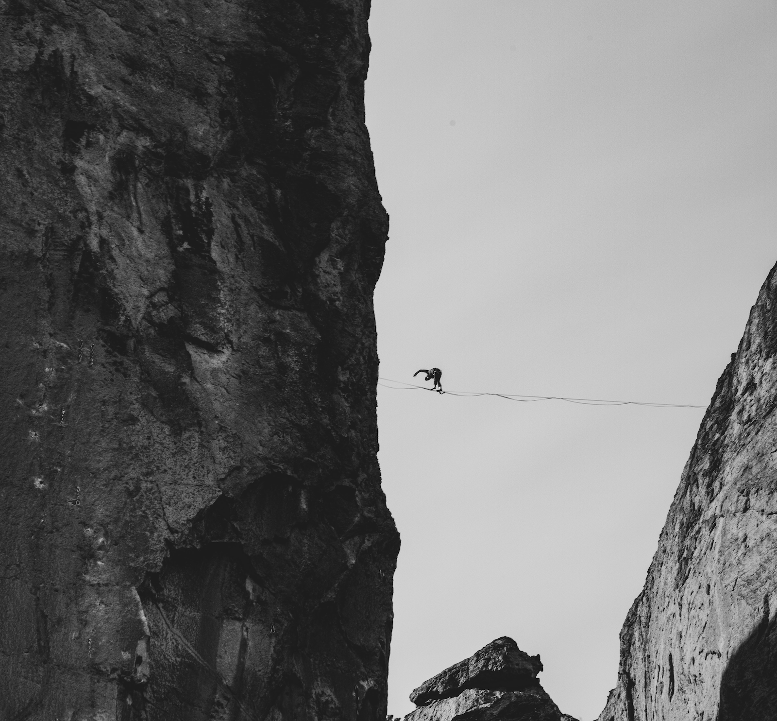 Balancing life is like walking a tightrope. Coaching can help