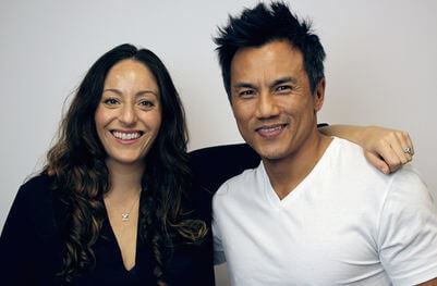 John Kim and Noelle Cordeaux, JRNI founders