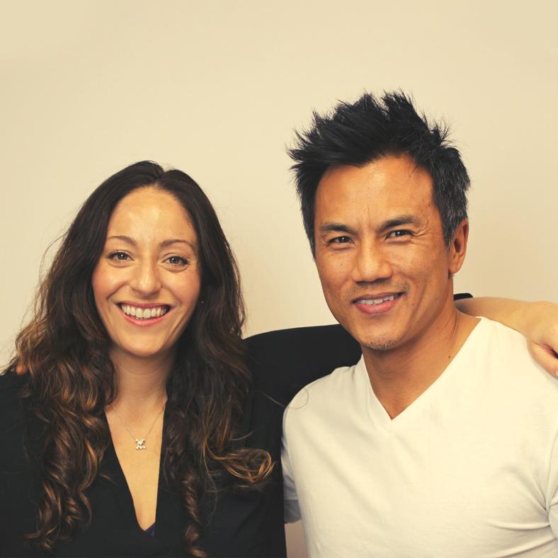 John Kim and Noelle Cordeaux