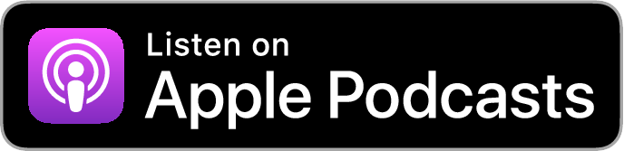 Listen on Apple podcast logo