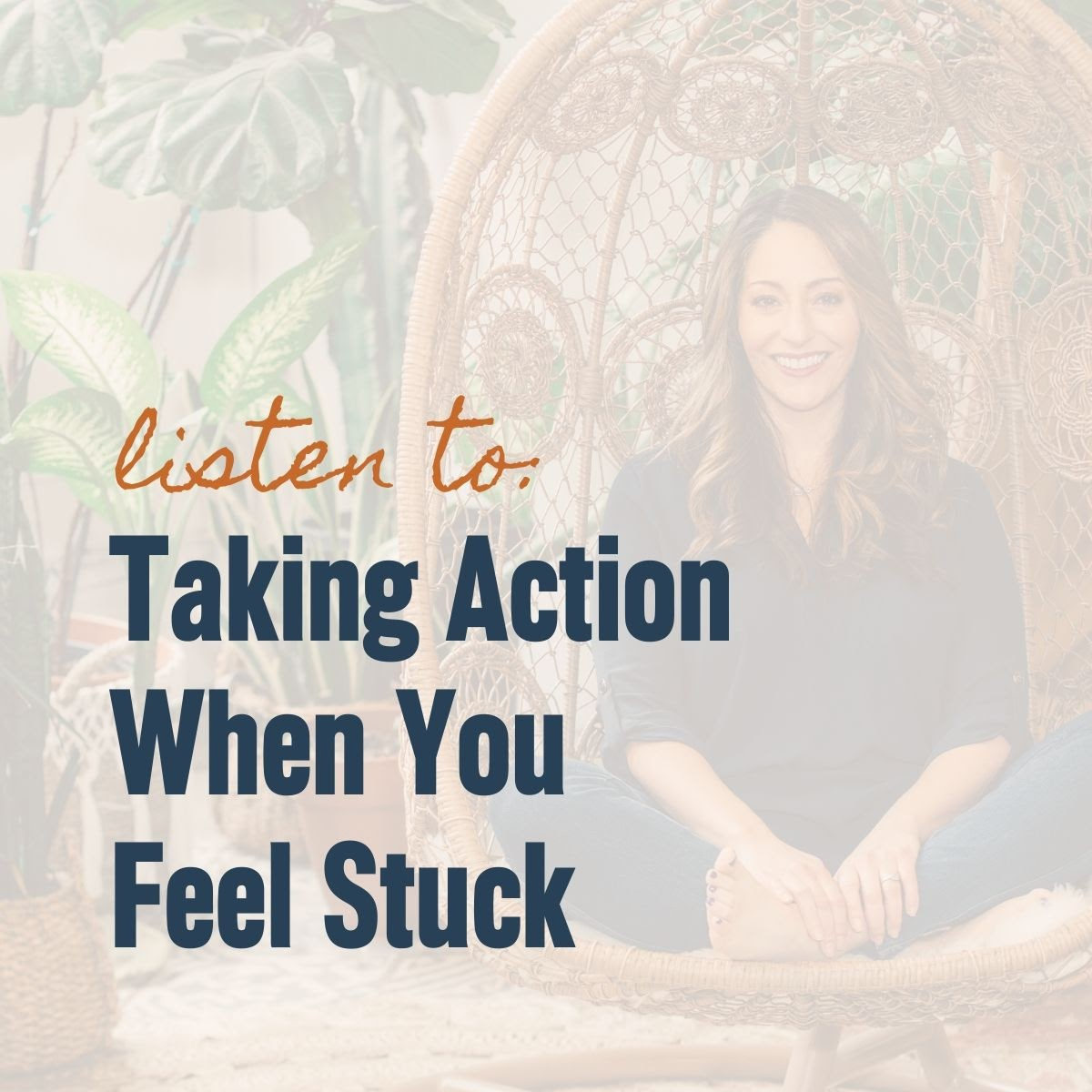 Listen to: Taking Action When You Feel Stuck with JRNI Coaching CEO and Co-Founder Noelle Cordeaux in the background