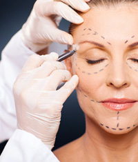 Facial, Cosmetic Surgery, Demonstration