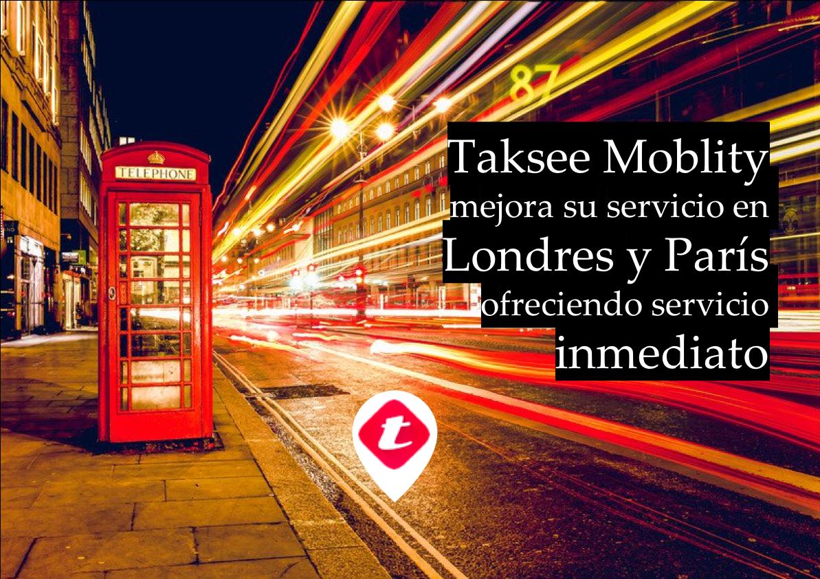 Taksee se alía con la británica Karhoo para dar servicio de taxi a empresas en Londres y París