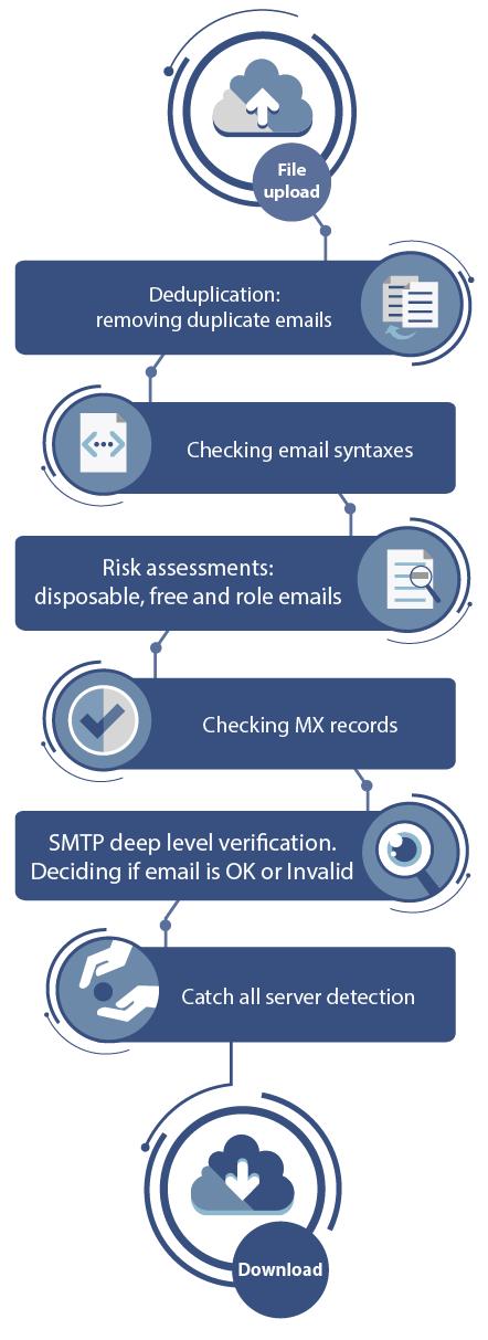 bulk email verification process