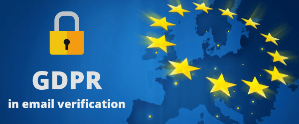 GDPR in email verification