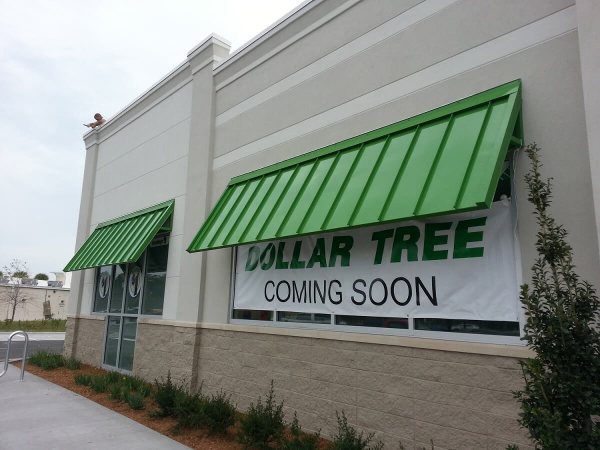 Dollar Tree Powder Coated