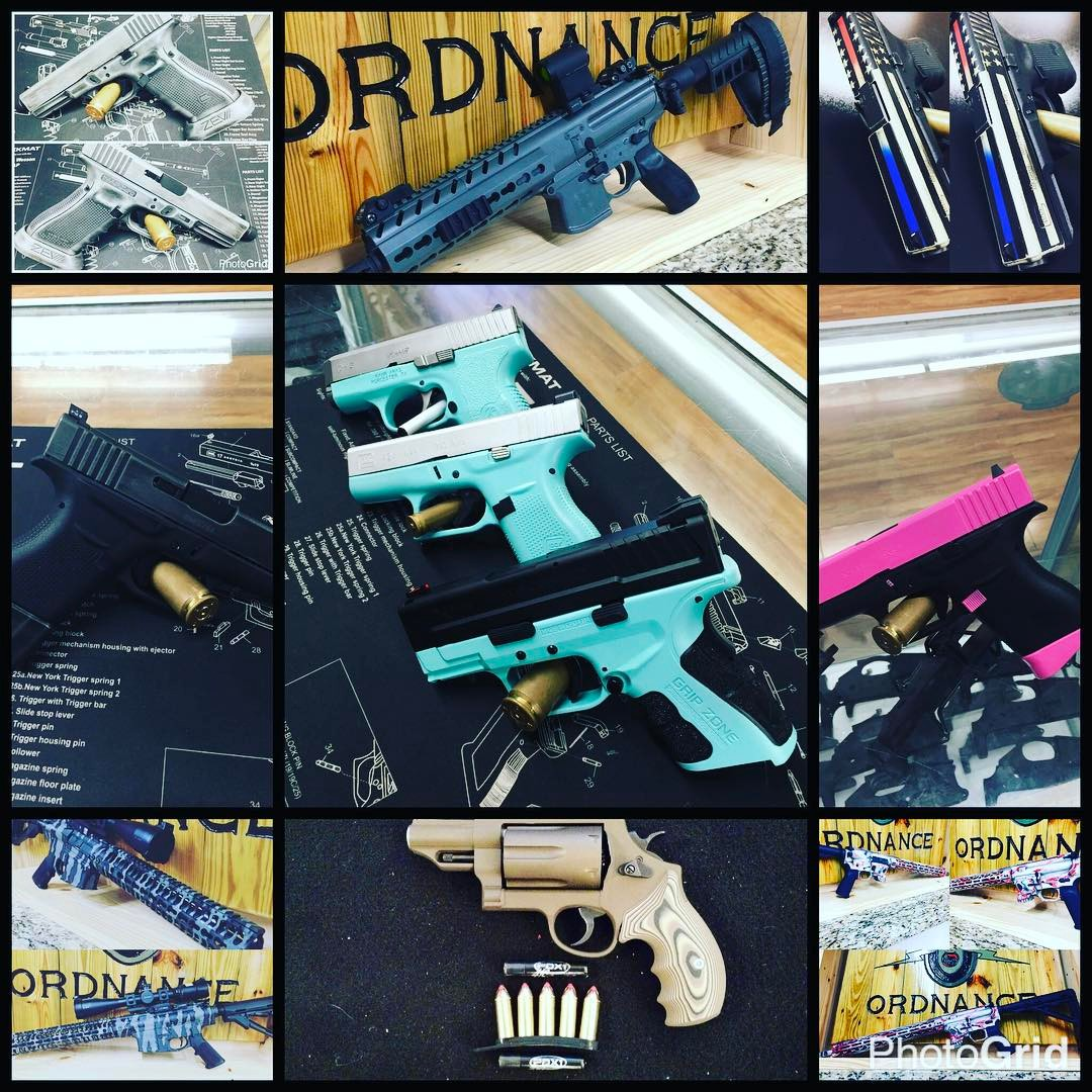 Cerakote Guns