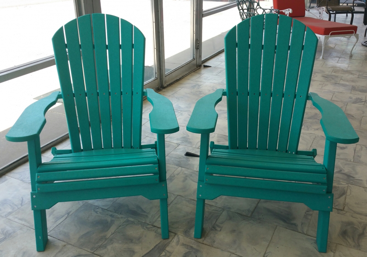 Adirondack Patio chair powder coated