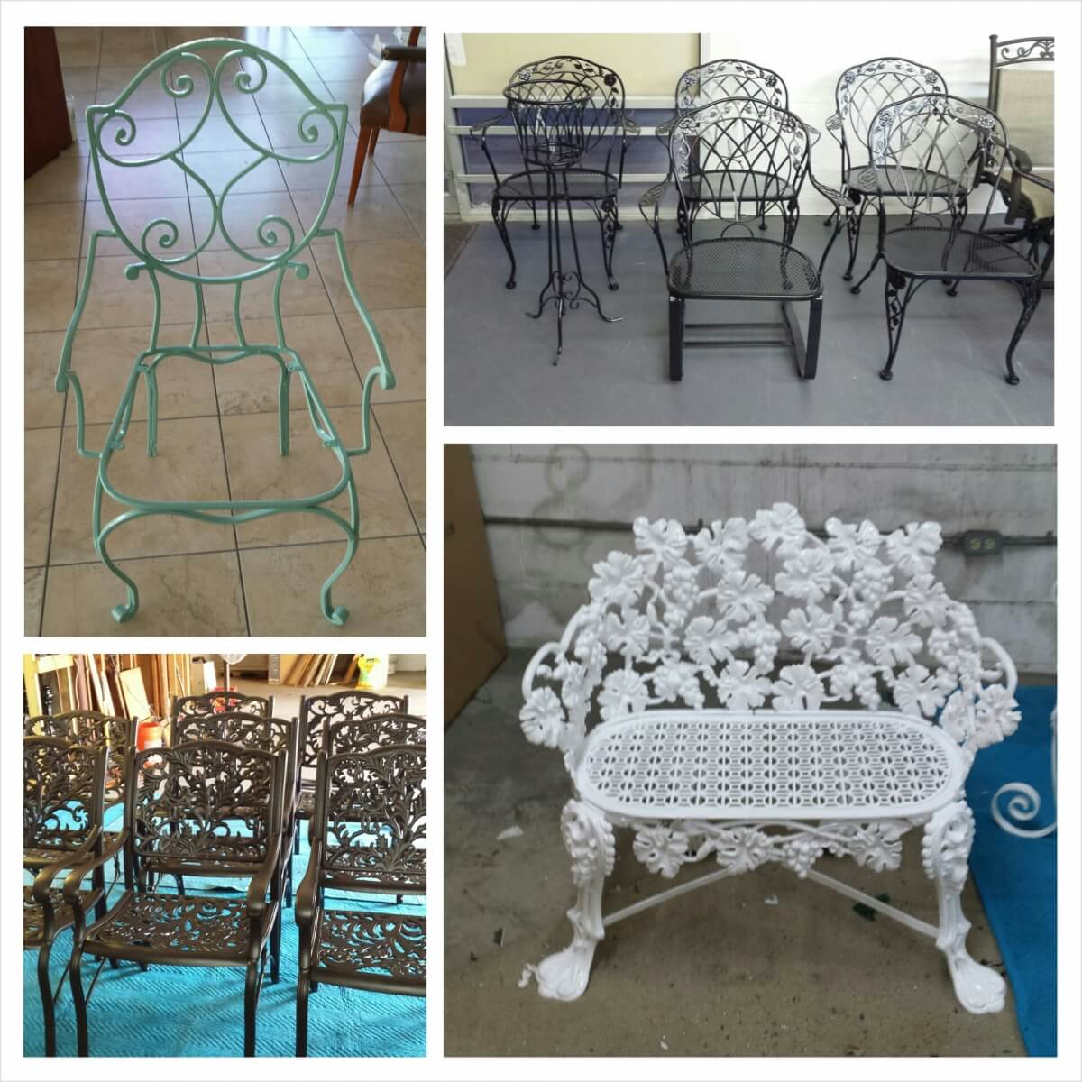 Chairs Powder Coated