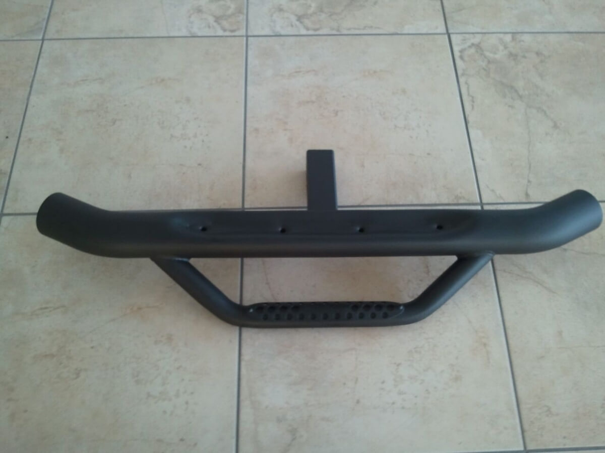 Auto Bar- Hitch Step Powder Coated Black