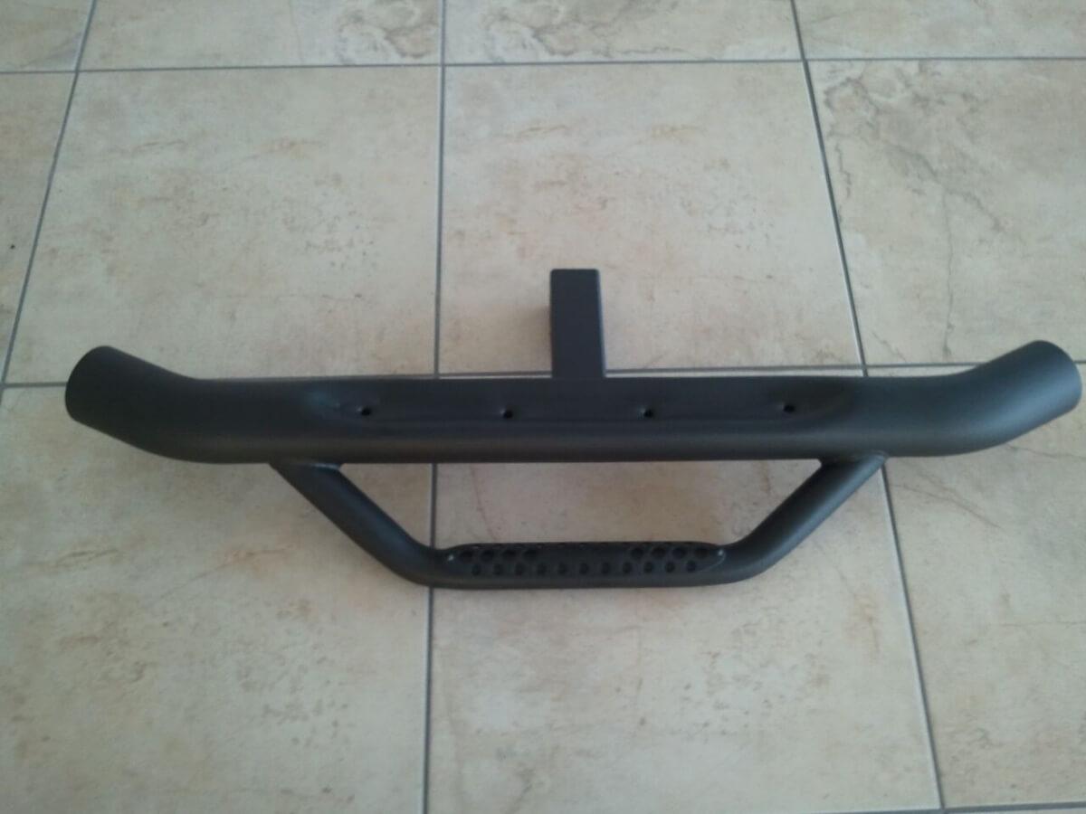 Auto Bar- Hitch Step Powder Coated Black