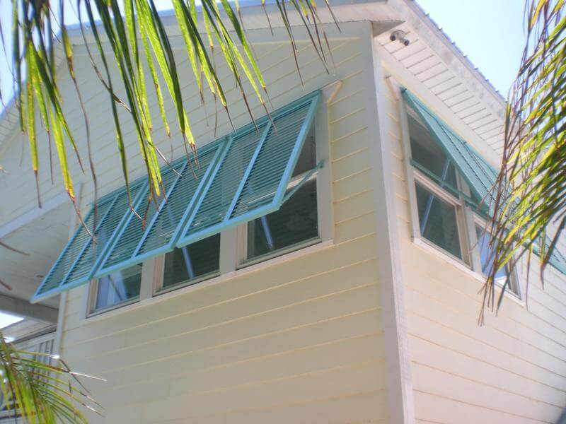 Storm Shutters powder coated