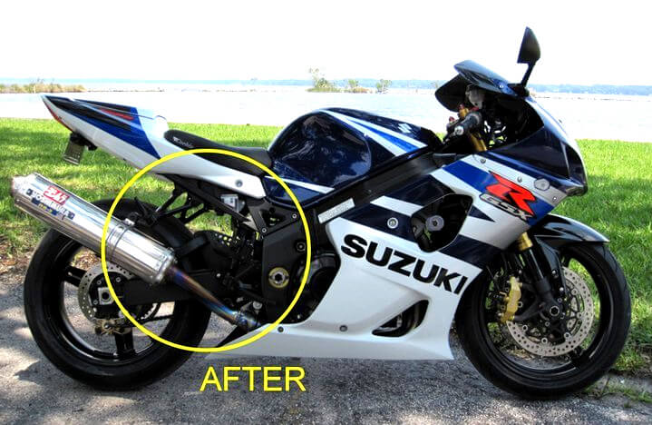 susuki-after powder coated