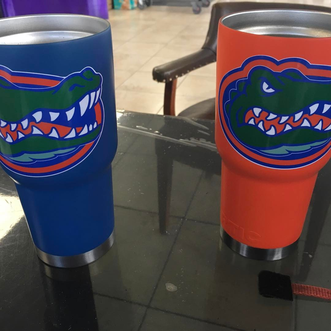 Yeti powder coated cups