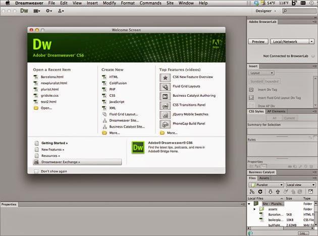 Dentro de los softwares de diseño web se encuentra el clásico adobe dreamweaver