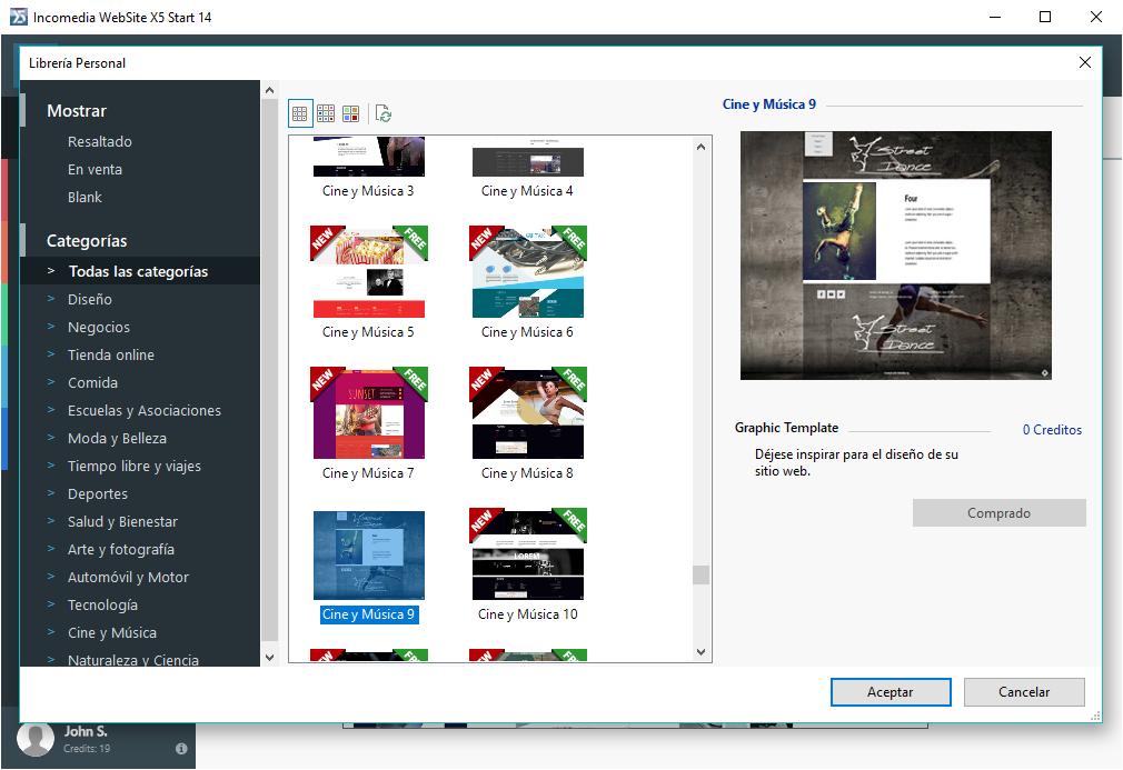 Incomedia WebSite X5 v14 se ha ido colocando poco a poco como uno de los favoritos dentro de lo softwares de diseño web