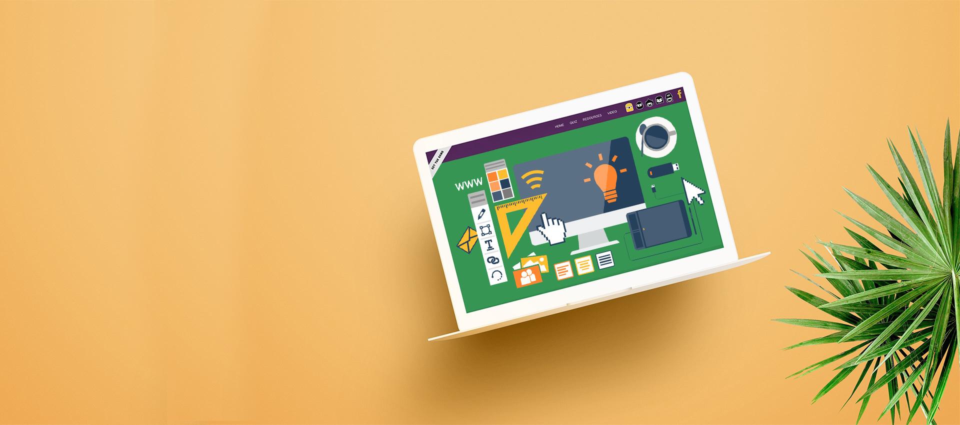 Los softwares de diseño web están creados para ser utilizados de manera fácil y orgánica.