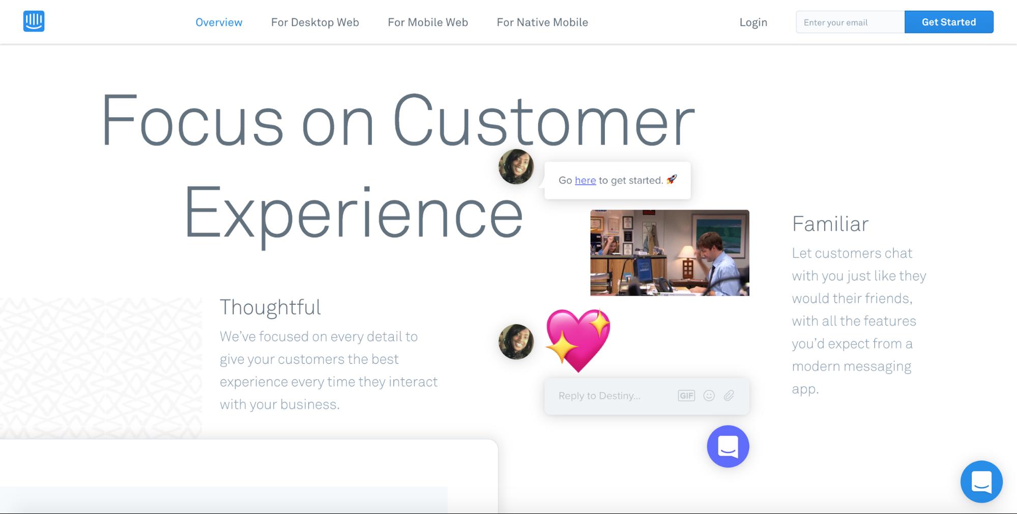 El fondo blanco es uno de los In's en las tendencias de diseño web para el 2019