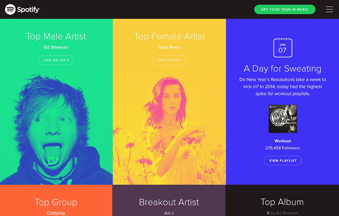 Los colores y las texturas formarán parte de las tendencias de diseño web en el 2019