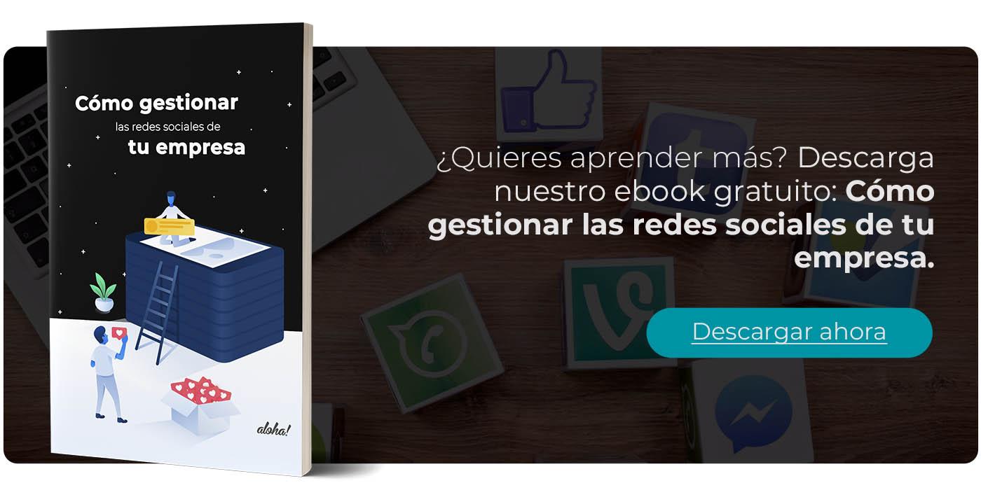 ebook gestionar las redes sociales de tu empresa