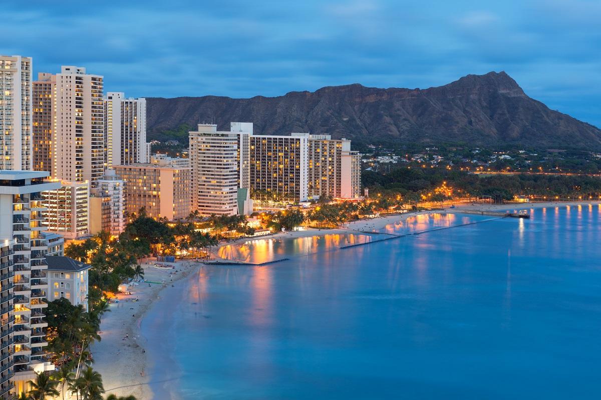 Honolulu Waikiki Skyline