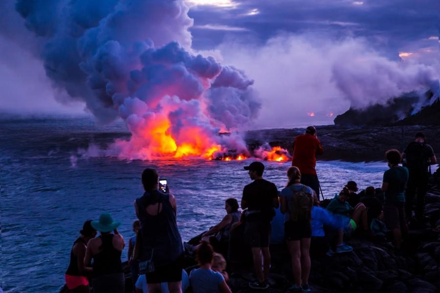 Big Island Volcano, Hawaii