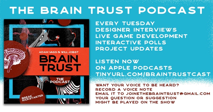 Listen to the Brain Trust podcast on apple podcasts now! tinyurl.com/braintrustcast