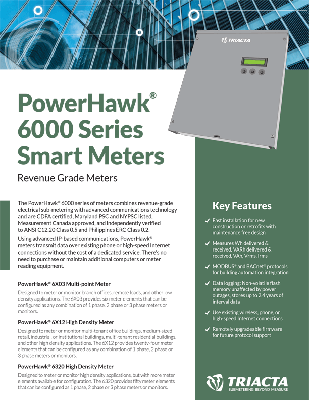 Triacta PowerHawk 6000 Brochure Thumbnail