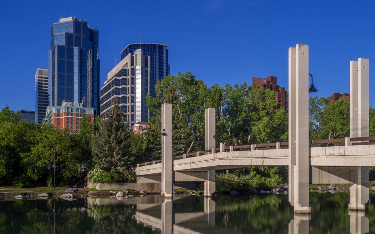 Eau Claire Building in Calgary