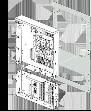 Meter Mounting Back Plate