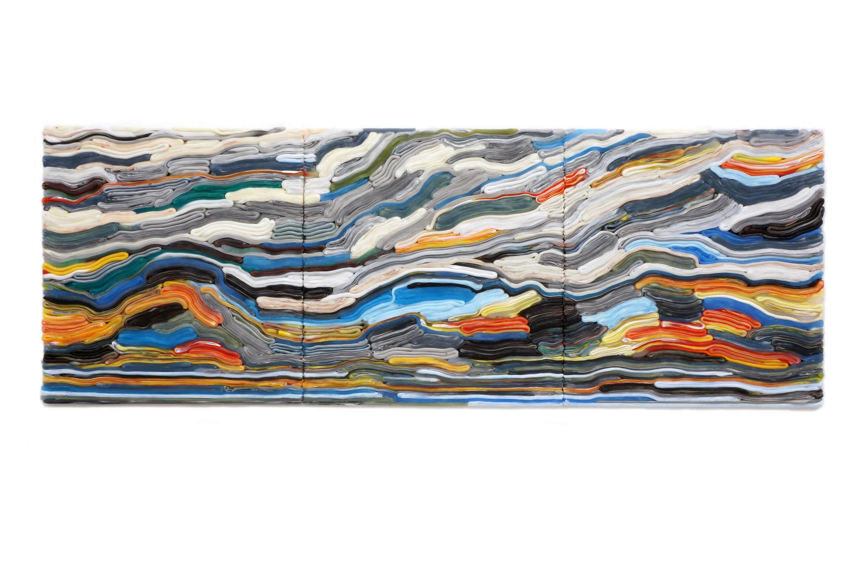 Stripe Painting, 2016