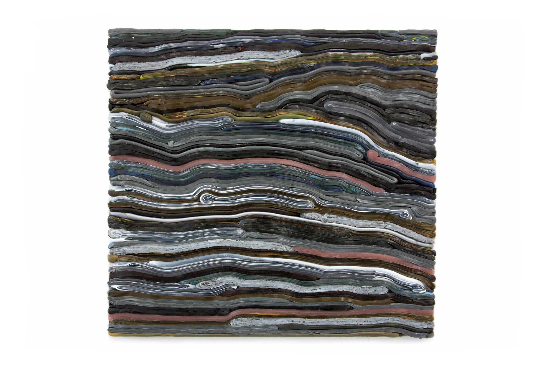 Stripe Painting (Black), 2012
