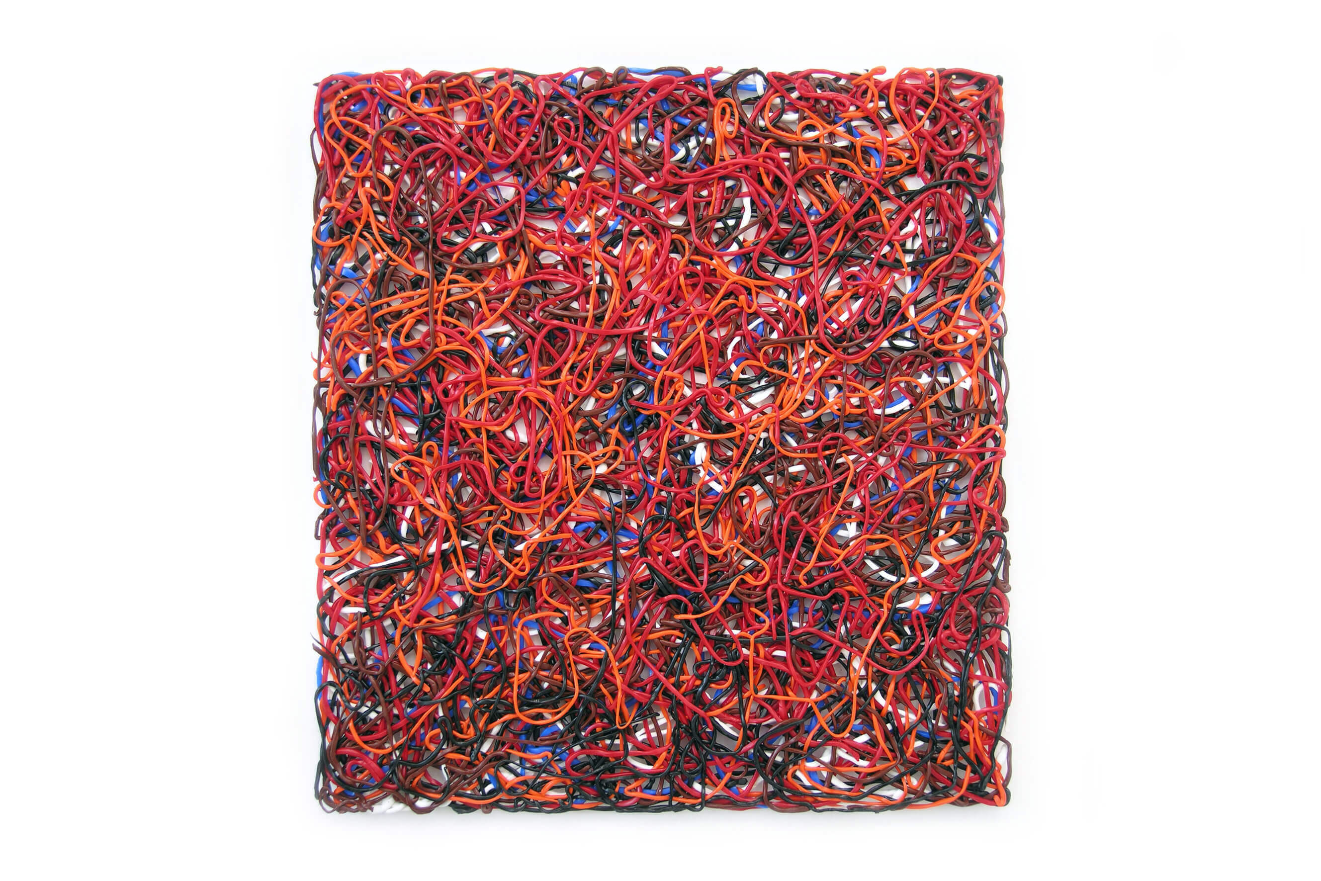 #906 (String and Red), 2009
